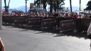 Crowd Shot Cannes Film Festival Stock Footage