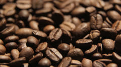 Coffee in motion close-up Stock Footage
