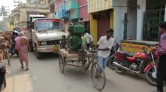 Generator rikshaw Stock Footage