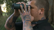Stock Video Footage of 12 11 12Hula10 inked birder