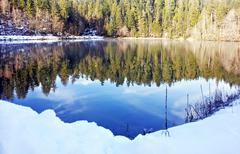 baker lake - stock photo
