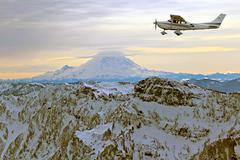 flying - stock photo