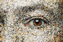 eye on environment - stock illustration