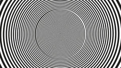 optical illusion_spiral 1 - stock footage