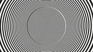 Optical illusion_spiral 1 Stock Footage