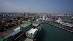 Port - stock footage