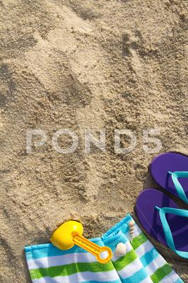 Stock photo of summer beach holiday