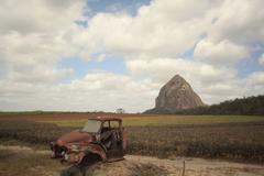 Rustic scenery - stock photo