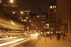 London traffic - stock photo