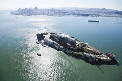 Alcatraz jail in san francisco Stock Photos