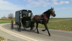 Amish Country - stock footage
