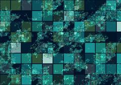 Satellite view Stock Illustration