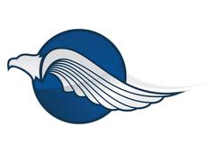 Eagle symboli Piirros