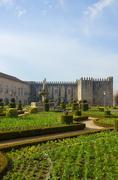 Stock Photo of palace of bishop, braga, portugal