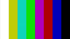 test pattern - stock footage