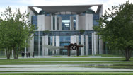 Stock Video Footage of German Chancellery Building (Bundeskanzleramt)