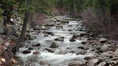 Sierra Nevada California mountain river HD 5345 Stock Footage