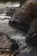 Manitoulin Island geological phenomenon Stock Photos