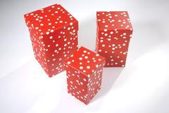 three gift boxes - stock photo
