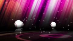 Bingo balls 3variation Stock Footage
