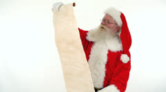 Santa;s list Stock Footage