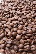 coffee beans texture - stock photo