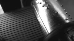 Music box. Close-up. Seamless Stock Footage