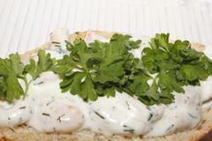 Shrimp snack Stock Photos