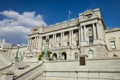 Washington d.c, library of congress Stock Photos