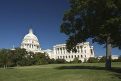 The us capitol Stock Photos