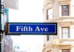 Fifth avenue Stock Photos