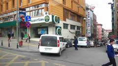 Turgut Ozal Street Stock Footage
