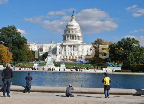 Stock photo of Washington DC Capitol