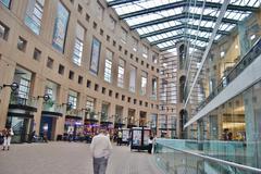 Vancouver Library Interior, Canada - stock photo