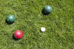 Bocce ball Stock Photos
