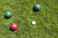Stock Photo of bocce ball