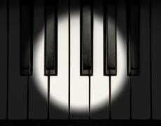 Piano solo Stock Photos