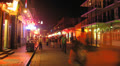 Bourbon Street New Orleans Time-Lapse (2K) Footage