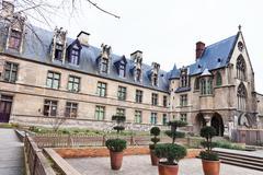 Cluny museum in paris Stock Photos