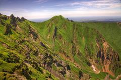 Landscape in Puy de Sancy Mountain Stock Photos