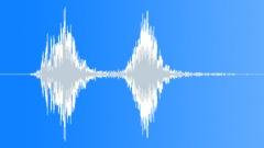 Large dog double bark - sound effect