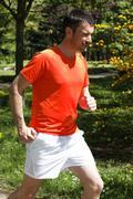 Stock Photo of running outdoor