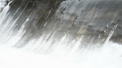 Rapid flow of of water Stock Footage