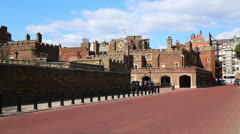 St James Palace WS Stock Footage