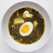 green soup - stock photo