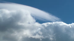 Dance of the clouds Stock Footage
