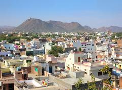 udaipur city - rajasthan india - stock photo