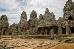 Bayon temple - stock photo