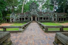 Ta Prohm, Angkor Wat Stock Photos