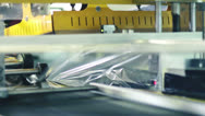 Stock Video Footage of industrial packaging ,labeling and boxing